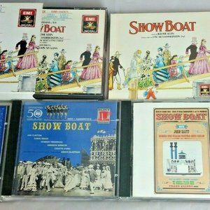 Lot Of Assorted Show Boat Broadway Musical CDs All
